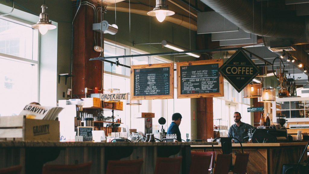 zisková kaviareň