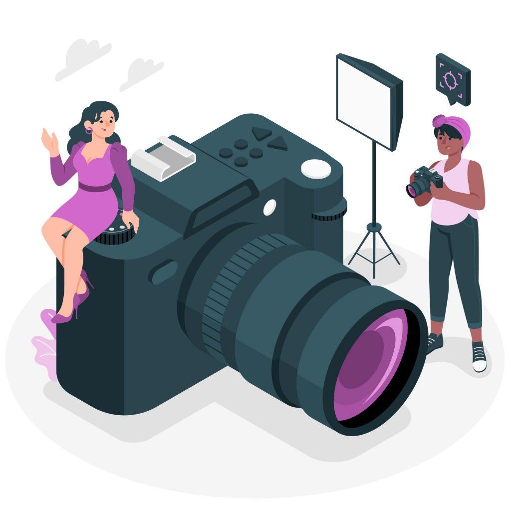 fotobanka podpora obchodu