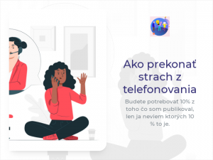 Read more about the article Ako prekonať strach z telefonovania